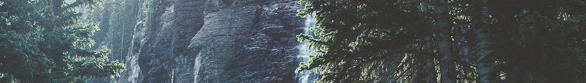 krajobraz górski - czyste powietrze - Banner